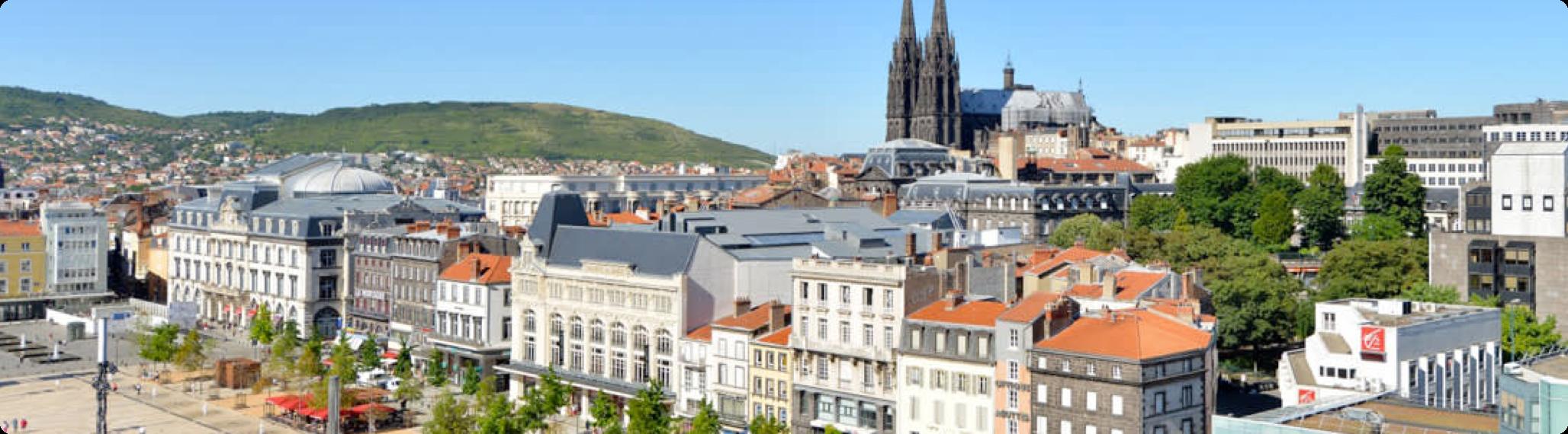 Bannière Clermont-Ferrand