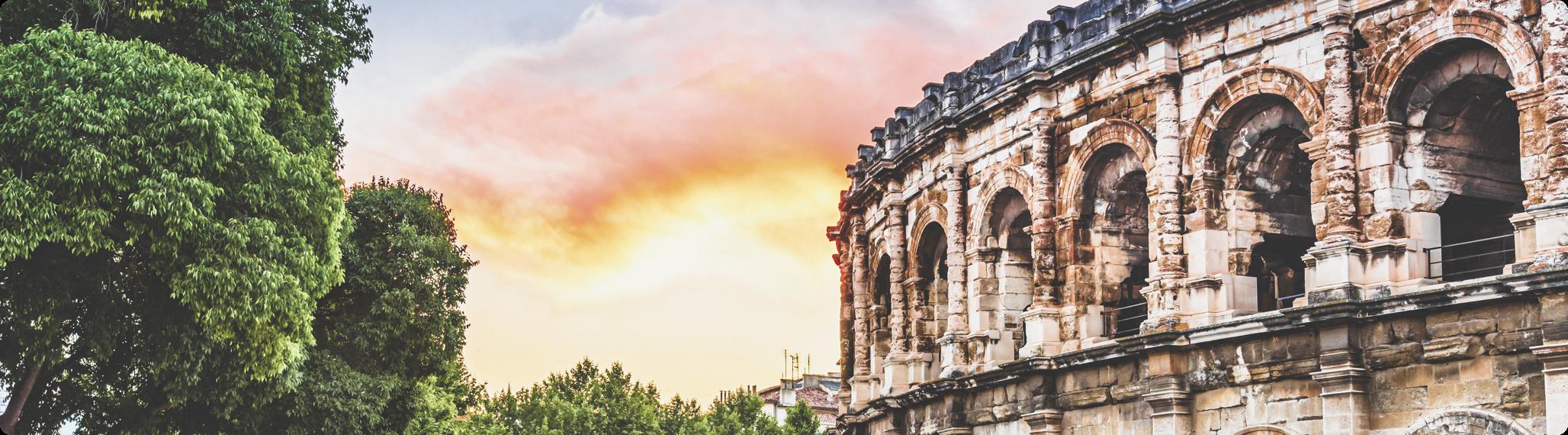 Bannière Nîmes