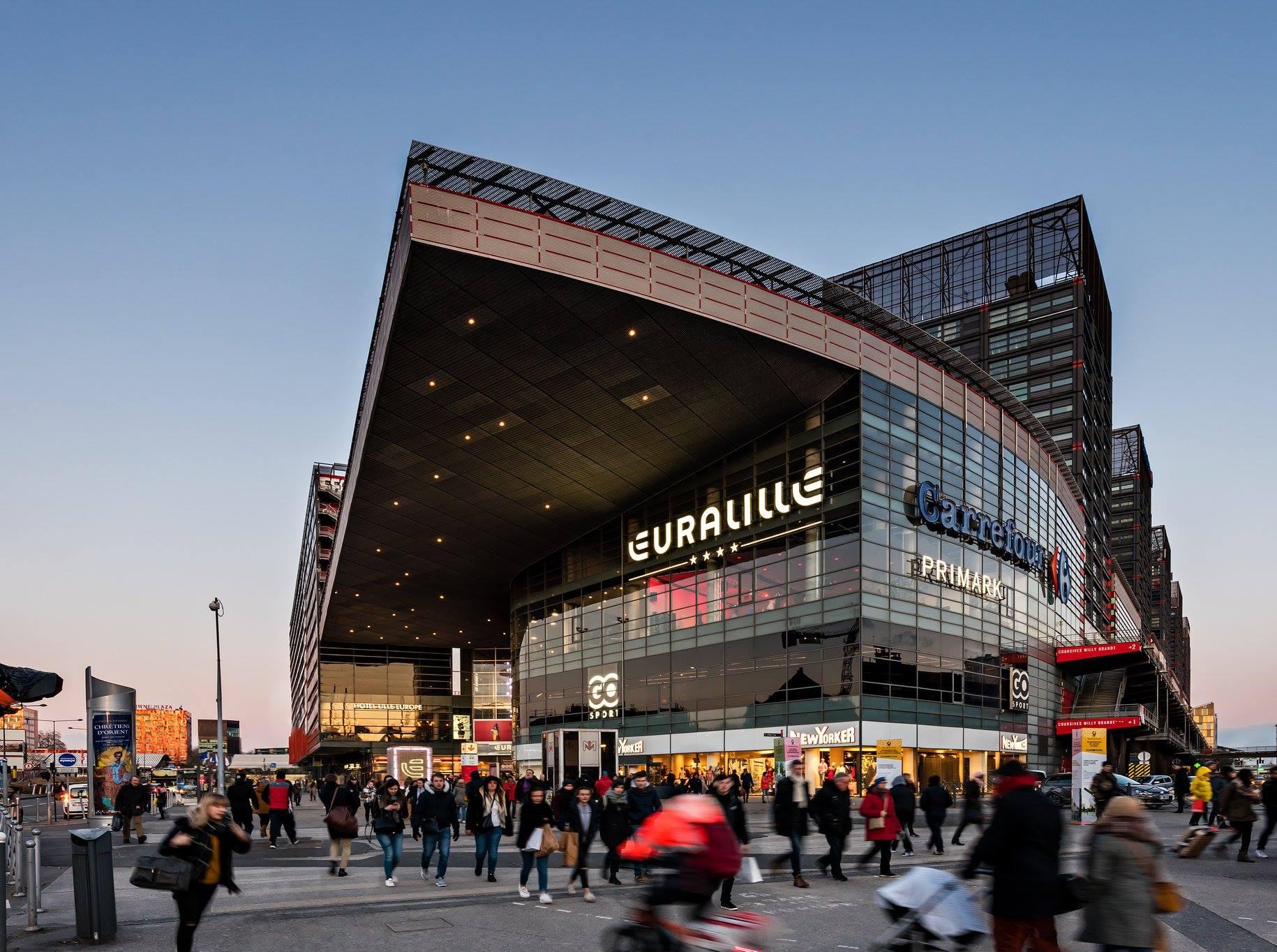 Bannière Centre Commercial